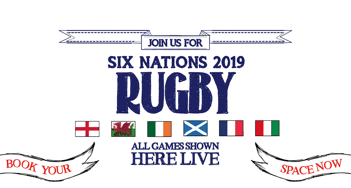 Watch the 6 Nations at The Edinboro Castle in London